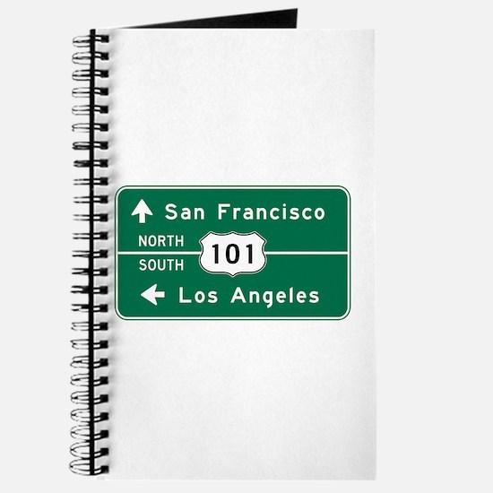San Francisco-LA-US Route 101 Journal