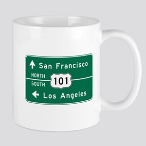 San Francisco-LA-US Route 101 Mug