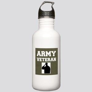 Army Veteran Water Bottle