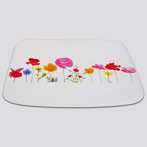wild meadow flowers Bathmat