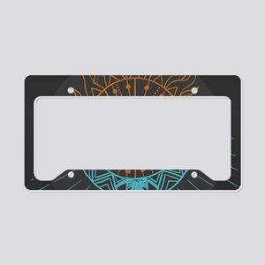 Sun and Moon License Plate Holder