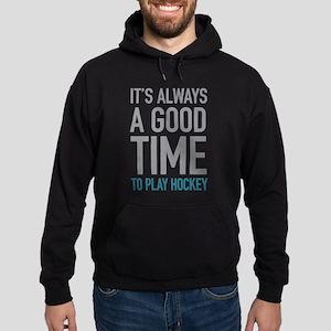 Play Hockey Hoodie (dark)