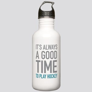 Play Hockey Stainless Water Bottle 1.0L