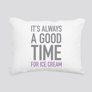 Ice Cream Rectangular Canvas Pillow