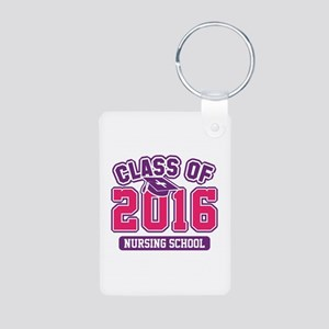 Class Of 2016 Nursing Aluminum Photo Keychain