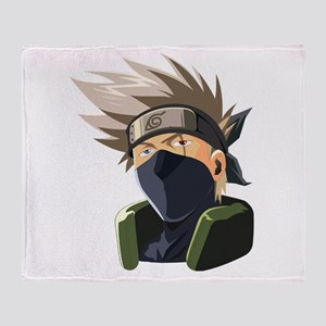 Kakashi avatar cartoon Throw Blanket