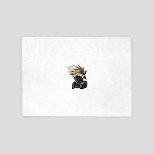 Kakashi avatar cartoon 5'x7'Area Rug