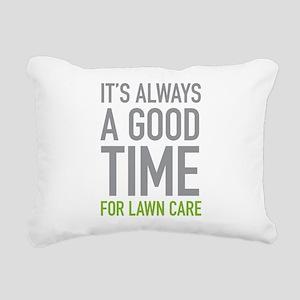 Lawn Care Rectangular Canvas Pillow