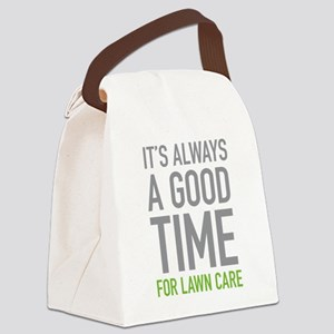 Lawn Care Canvas Lunch Bag