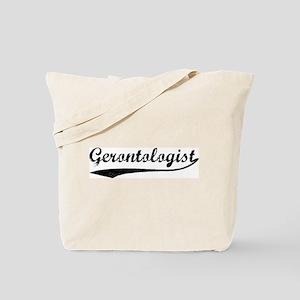 Gerontologist (vintage) Tote Bag