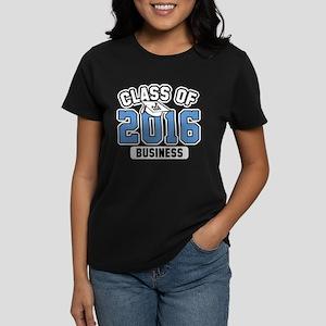 Class Of 2016 Business Women's Dark T-Shirt