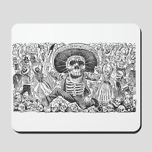 Skull from Oaxaca by Posada Mousepad