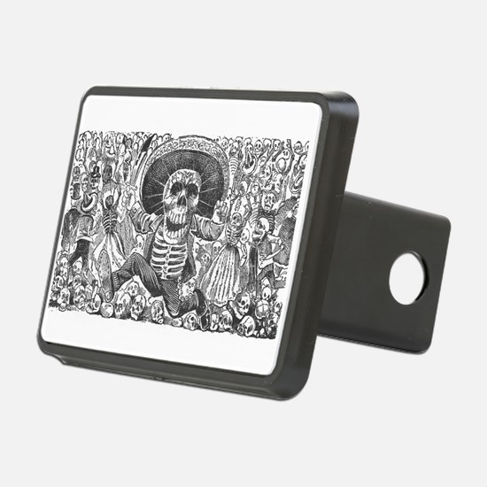 Skull from Oaxaca by Posad Hitch Cover