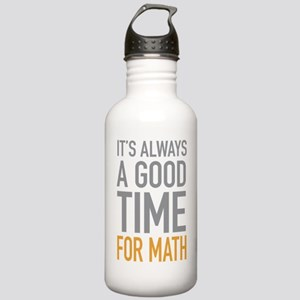 Math Stainless Water Bottle 1.0L