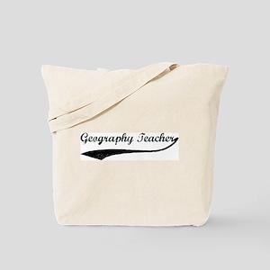 Geography Teacher (vintage) Tote Bag