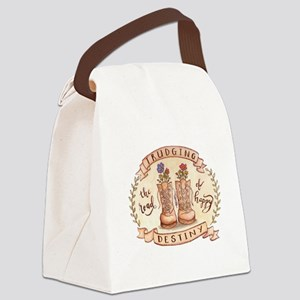 Trudging the Road Canvas Lunch Bag