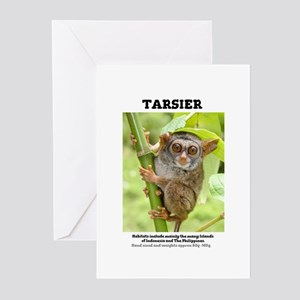TARSIER - PRIMATE. Very Small @80g. Greeting Cards