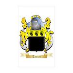 Tanner Sticker (Rectangle 10 pk)