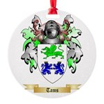 Tams Round Ornament