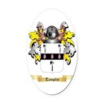 Tamplin Oval Car Magnet