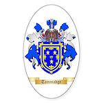 Tammadge Sticker (Oval 50 pk)