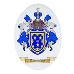 Tammadge Oval Ornament