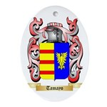 Tamayo Oval Ornament
