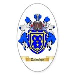 Talmadge Sticker (Oval 50 pk)