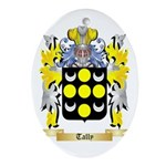Tally Oval Ornament