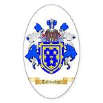 Tallmadge Sticker (Oval 50 pk)