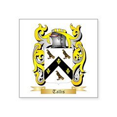 Tallis Square Sticker 3
