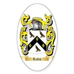 Tallis Sticker (Oval 10 pk)