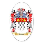 Tallent Sticker (Oval 50 pk)