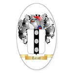 Talcott Sticker (Oval 50 pk)