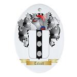 Talcott Oval Ornament