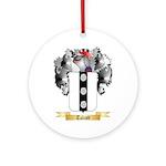 Talcott Round Ornament