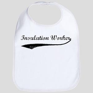 Insulation Worker (vintage) Bib