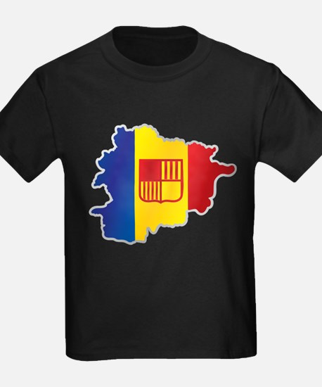 National territory and flag Andorra T-Shirt