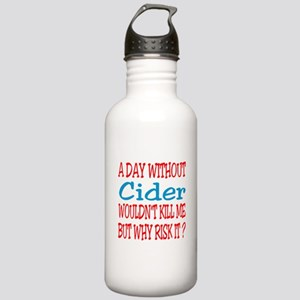 A day without Cider Stainless Water Bottle 1.0L