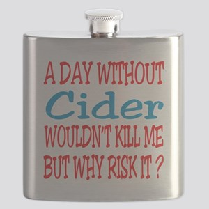 A day without Cider Flask