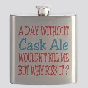 A day without Cask Ale Flask