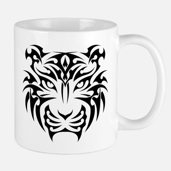 Tiger tattoo art Mugs