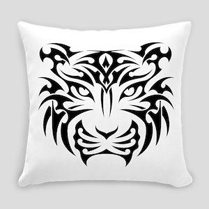 Tiger tattoo art Everyday Pillow