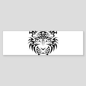 Tiger tattoo art Bumper Sticker
