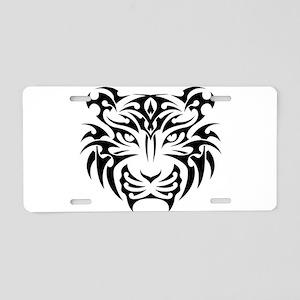 Tiger tattoo art Aluminum License Plate