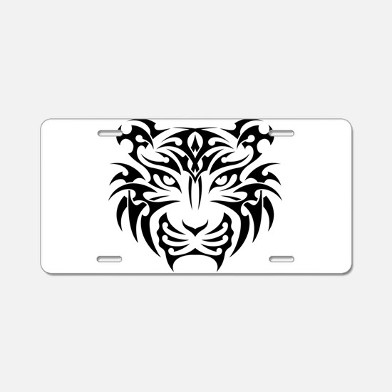 Tiger tattoo art Aluminum License Plate