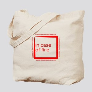 Fire emergency procedure Tote Bag