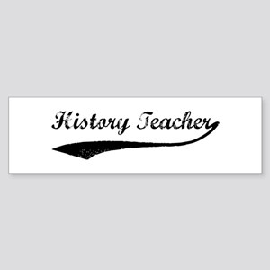 History Teacher (vintage) Bumper Sticker