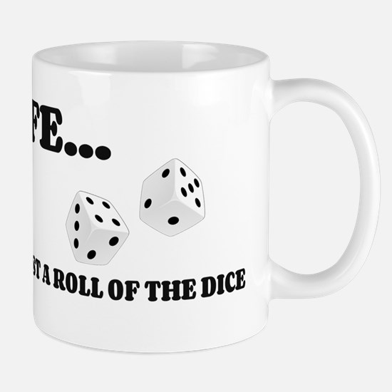 Life Dice Mugs
