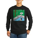 Life Saving Long Sleeve Dark T-Shirt